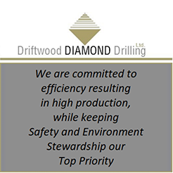 Driftwood Diamond Drilling Ad