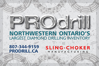 PROdrill - Northwestern Ontario's Largest Diamond Drilling Inventory