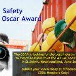 CDDA Safety Video Oscar Award Now Accepting Submissions