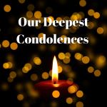 Our Deepest Sympathies