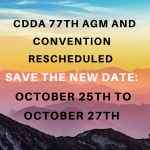 NOTICE: 77th AGM and Convention RESCHEDULED