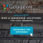 Board Member Bernie Robertson and Gougeon Insurance Brokers