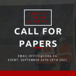 2021 CDDA CONVENTION CALL FOR PAPERS
